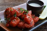 Maple Sticky Buffalo Shrimp